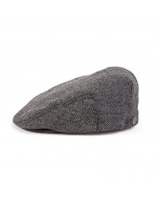 Brixton Hooligan snap cap grey / black