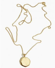 Fashionology Small tag ketting gold