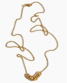 Fashionology Multi orbit ketting gold