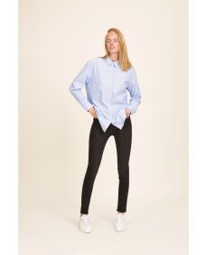 Samsoe Samsoe 6135 Caico Basis blouse oxford blue