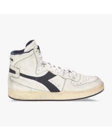 Diadora Mi basket used sneakers white / corsair