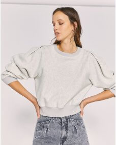Iro Paris Pahia top light grey